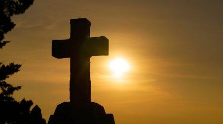 Cross on a rock representing Ignite Faith Niagara